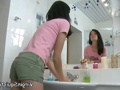 Pussy Welcomes All These Squirting Experiments SquirtingVirgin