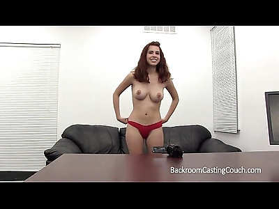 Big Tits Coed Assfuck Casting, BF Dont Know