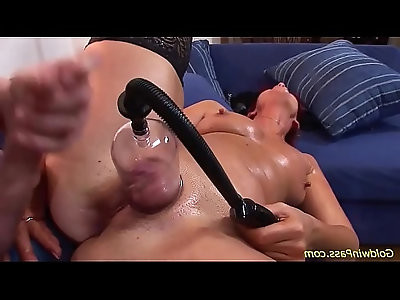 busty chubby Milf rough anal pumped