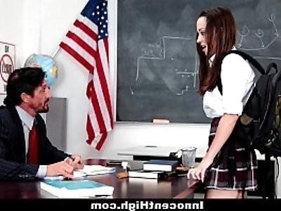 InnocentHigh School Girl Desperate For Teachers Cock