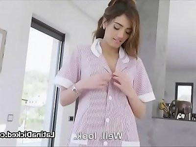 I love fuck our Latina maid