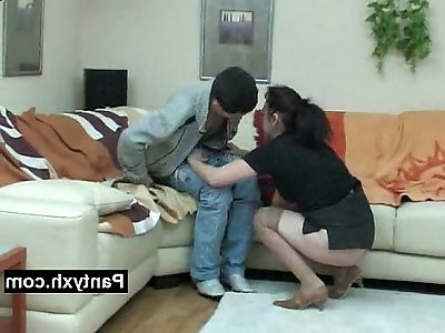 Soothing Seductive Pantyhose Woman Pounded