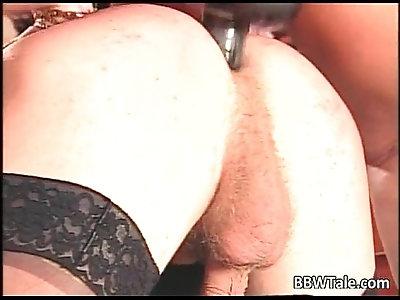 German group sex action where BBW slut get