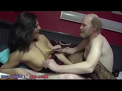 Dutch prostitute fingered