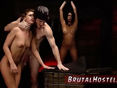 Tied bondage sex and huge bubble butt extreme xxx Two young sluts