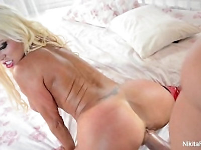 Nikita von james gets licked and fucked