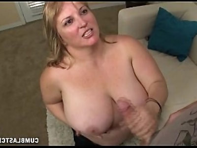 Huge titted blonde girl gets blasted