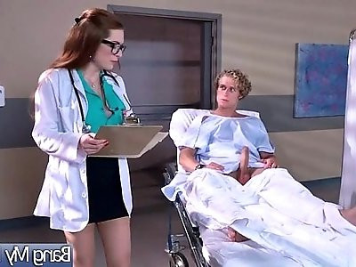 Veronica Vain Slut hot Patient Come And Bang hard With Horny Doctor movie 30