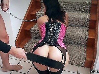 Spizoo Teen Eden Sin gets double penetration, big dick and big booty